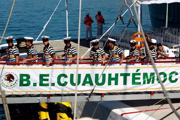 Sigue la búsqueda de cadete mexicana desaparecida en costas de India