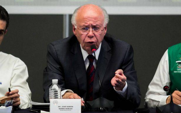 Salud denunció desvíos por mil 150 mdp ante PGR: Narro Robles