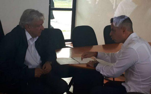 Alejandro Murat presenta a López Obrador proyectos de desarrollo para Oaxaca