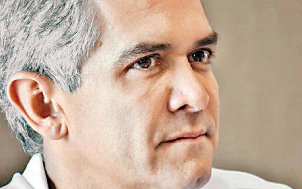 Miguel Ángel Mancera asegura que un eventual triunfo o derrota del PRD no será su responsabilidad
