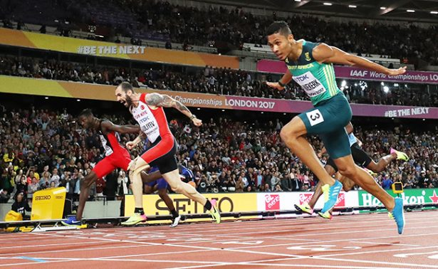 Guliyev gana los 200 metros planos del Mundial de Londres