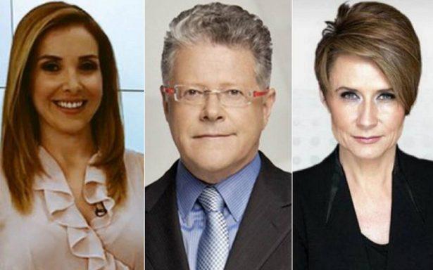 Proponen a Denise Maerker, Azucena Uresti y Sergio Sarmiento como moderadores del primer debate presidencial