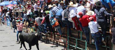 Huamantlada termina con seis heridos