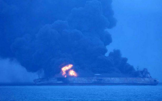 Chocan dos buques frente a costa de China, hay más de 30 desaparecidos
