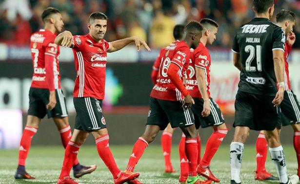 Tijuana y Santos empatan a uno en la jornada 11