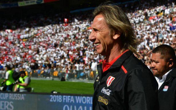 Para Gareca: 'Perú va a competir, no a participar'