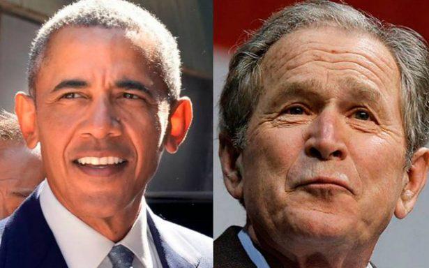 Obama y Bush también enviaron al Ejército de EU a la frontera con México