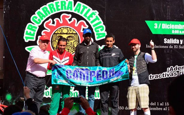 Africanos ganan la primera carrera de El Sol de San Luis
