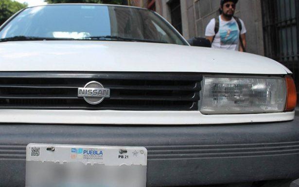 Dan alerta por placas clonadas en Puebla