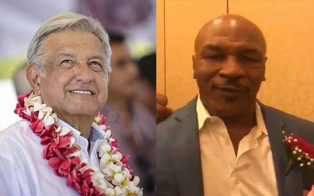Mike Tyson se vuelve AMLOver, dice que ama a López Obrador