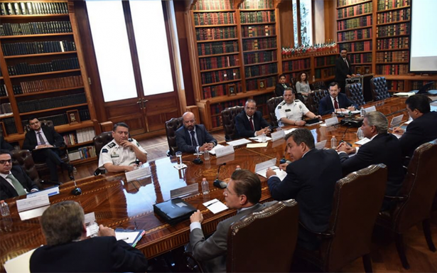 Navarrete continúa diálogo con gobernadores sobre mecanismos de seguridad