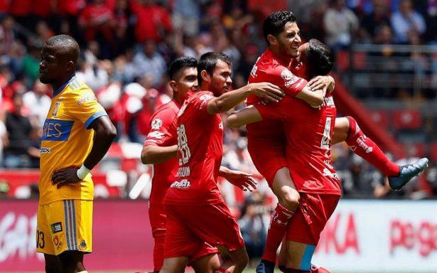 Toluca vence a Tigres y consigue pase a liguilla