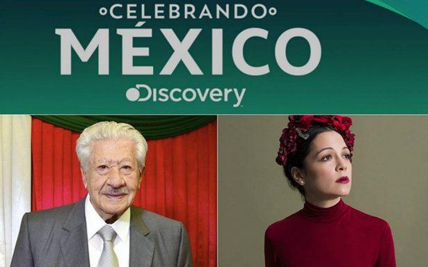 López Tarso y Lafourcade destacan como voceros en Discovery Celebrando México