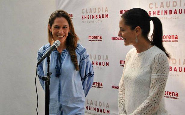 Claudia Sheinbaum invita a Mariana Boy a colaborar en su programa de gobierno