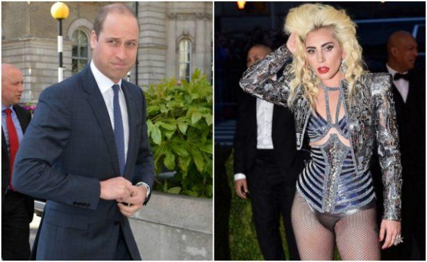 Revelan videollamada del príncipe Guillermo con Lady Gaga