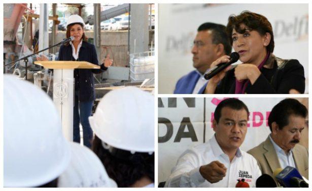 Candidatos al Edomex fijan postura ante detención de Javier Duarte