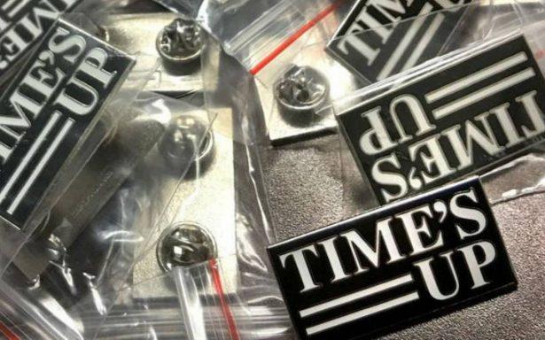 Time's Up ¿Qué significan los pins que lucen los actores en la alfombra roja de los Globos de Oro?