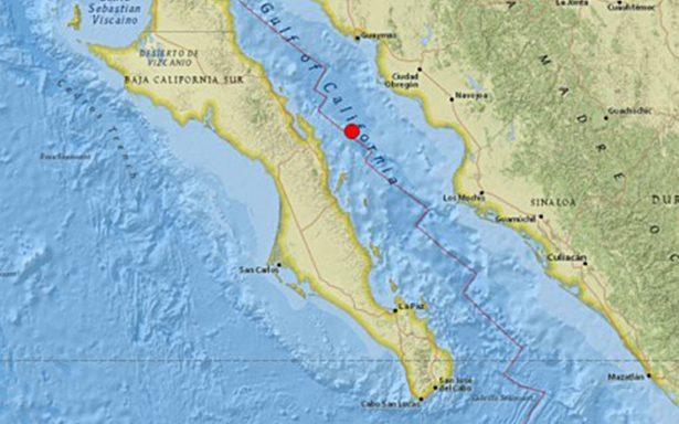 Registran sismo de magnitud 6.3 en Loreto, Baja California Sur