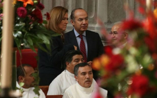 Calderón critica pragmatismo y falta de motivos espirituales de políticos
