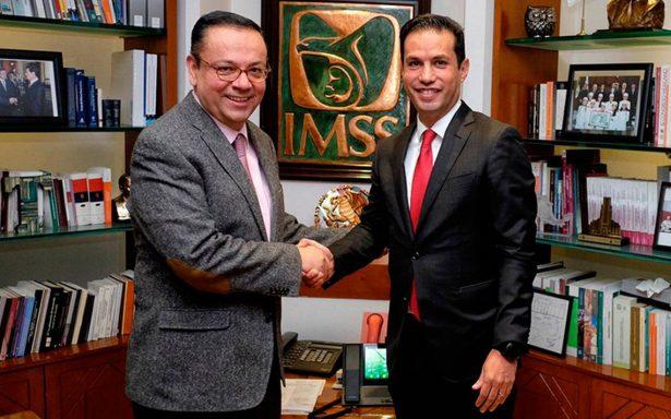 Germán Martínez y Tuffic Miguel aseguran que habrá cordial transición en el IMSS