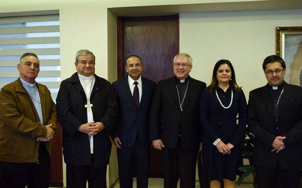 Navarrete Prida se reúne con integrantes del CEM tras reunión de obispo con narcos