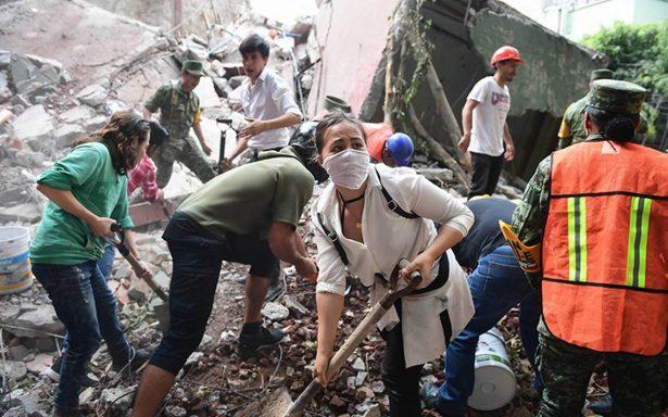 Millenials, símbolo de cambio y unidad en México tras terremoto