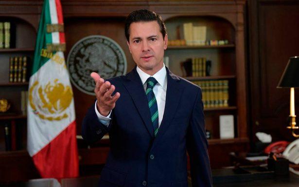 Nada ni nadie está por encima de la dignidad de México, le dice EPN a Trump