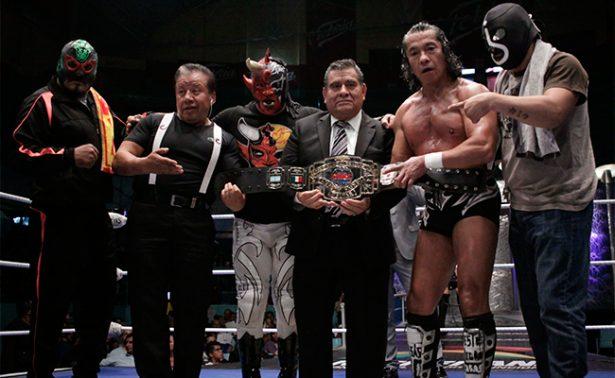 Mephisto, firme Campeón Mundial Welter