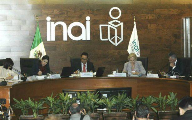 INAI cancela Semana Nacional de la Transparencia ante emergencia por sismo