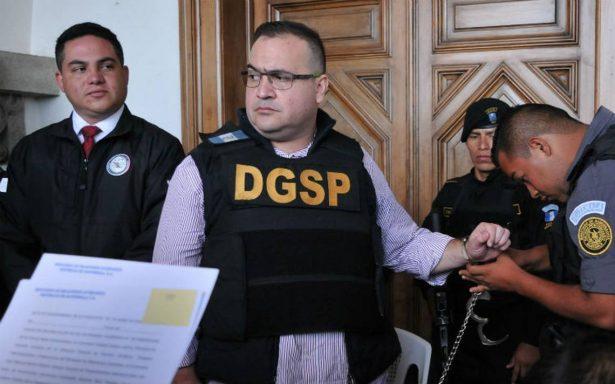 Piden al Senado apoyar caso contra Javier Duarte en La Haya por pruebas de SIDA falsas