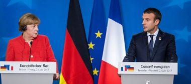 Macron propuso un pacto de 10 años a Alemania para reconstruir Europa