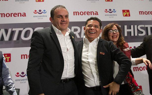 Morena y PES elegirán candidato para Morelos mediante encuesta