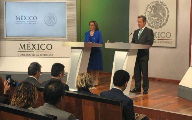 Sin definir, fecha de reunión Peña Nieto-Trump: Presidencia