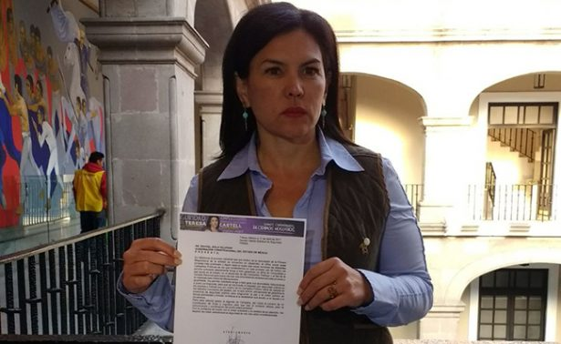 Solicita Teresa Castell seguridad al gobierno del Edomex