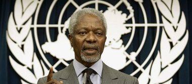 Kofi Annan fue una fuerza de guía para el bien: ONU