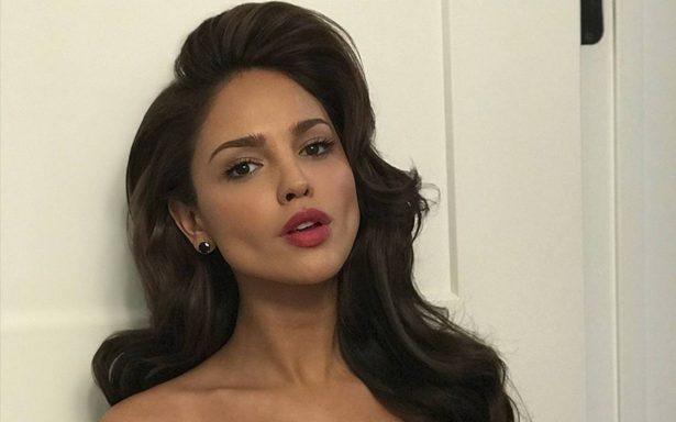 Eiza González presume en Instagram un escotazo de infarto