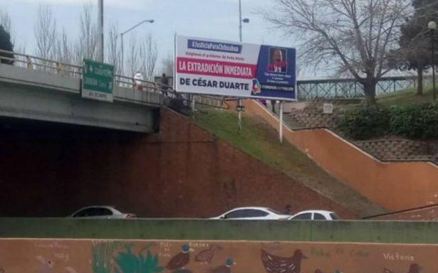 Piden en espectacular extradición de Cesar Duarte