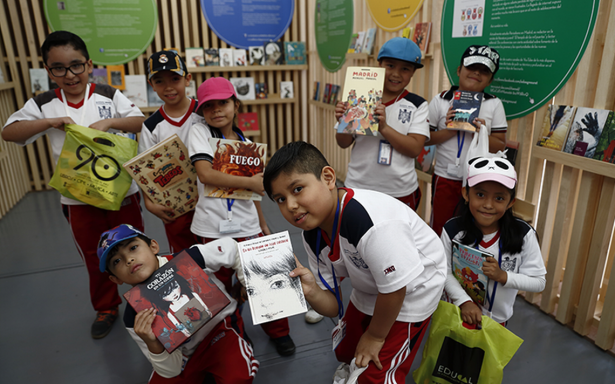 Feria de Libro Infantil y Juvenil inicia en México
