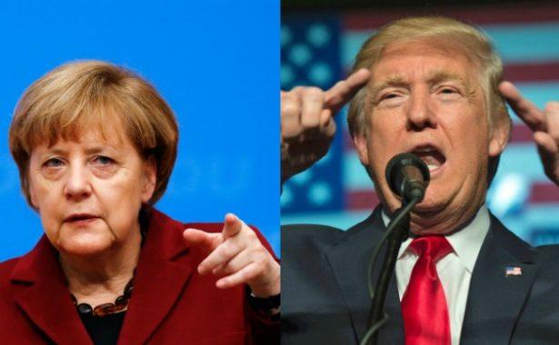 Merkel visita a Trump, con una Europa algo más calmada