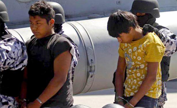 """Niños, """"jóvenes desechables"""" para el crimen organizado"""