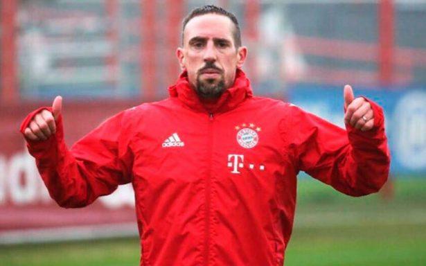 Ribéry dice que le 'robaron' el Balón de Oro de 2013