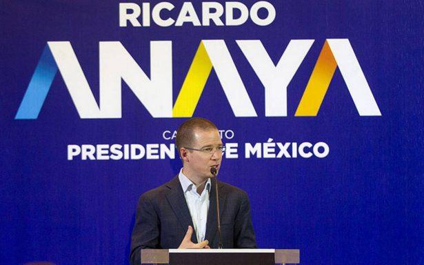 """Anaya confía en INE y TEPJF, pero no dará un """"cheque en blanco"""" si no hay rectitud"""