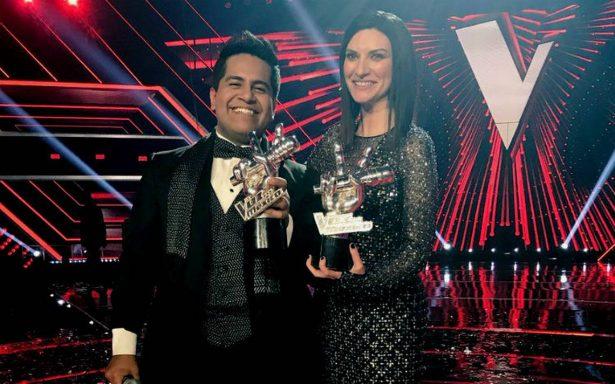 """Luis Adrián triunfa en la sexta edición de """"La voz… México"""""""