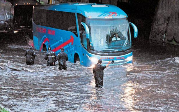 Gustavo A. Madero, Tlalpan e Iztapalapa las que más inundaciones padecen