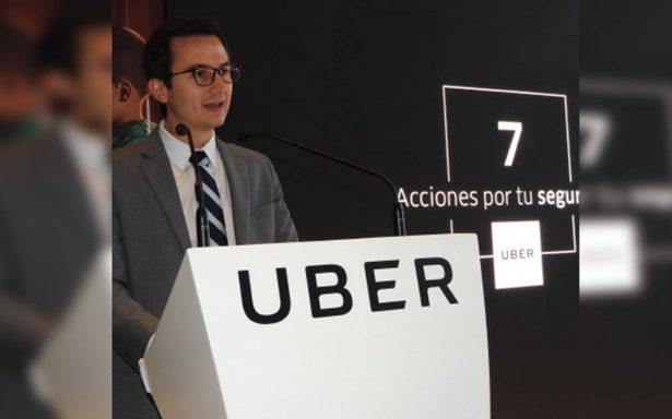 Verificar identidad por Facebook será requisito para darse de alta en Uber