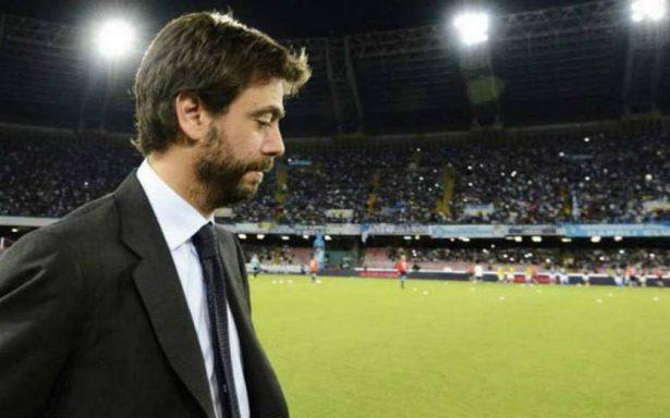 Suspenden un año al presidente de la Juventus por venta de entradas a ultras