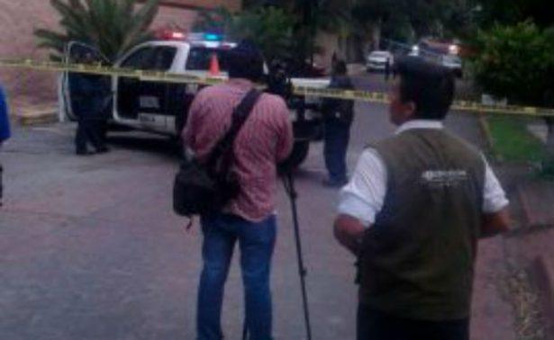 Balean a escolta cerca de Casa Morelos, impedía un asalto