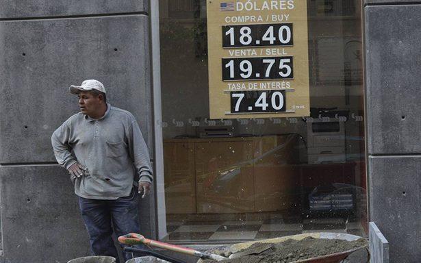 TLCAN y elecciones hacen latente tipo de cambio en 22 pesos