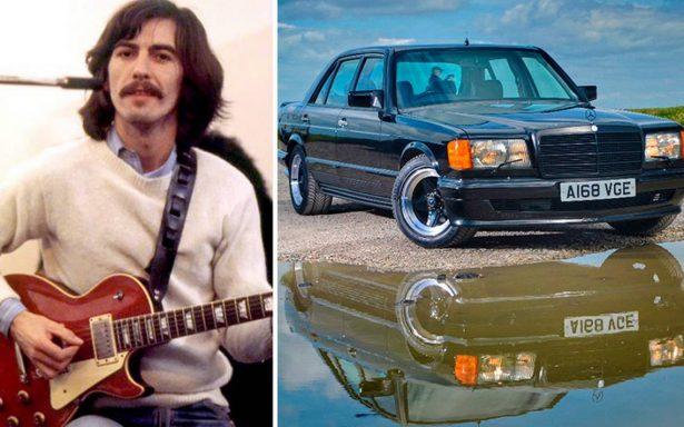 Alistan subasta de un Mercedes que perteneció a George Harrison