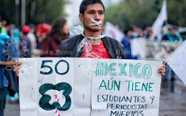 A 50 años de la matanza de Tlatelolco, demandas de jóvenes siguen vigentes: Arquidiócesis